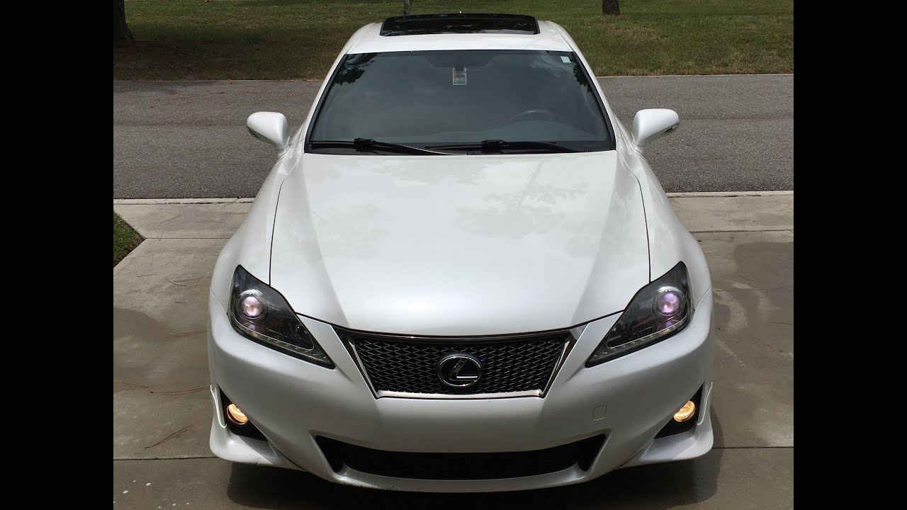 Lexus Is 250 Sport 2012 Lexus Is 250 F Sport 18 500 Youtube