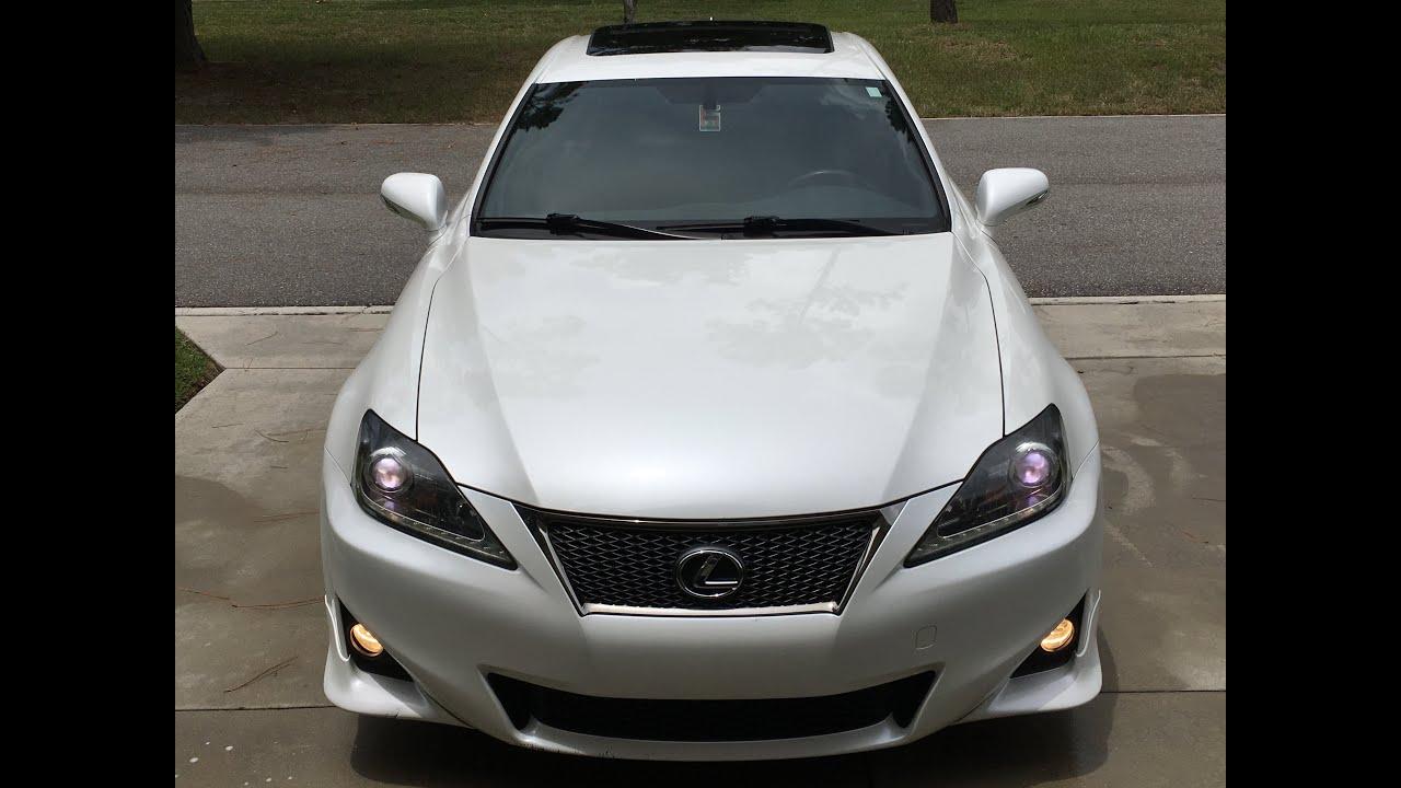 2012 Lexus IS 250 F SPORT $18 500