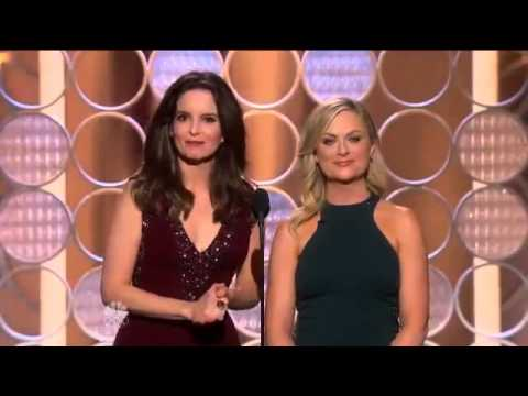 Complete 2014 Golden Globes  Monologue by Tina Fey & Amy Poehler