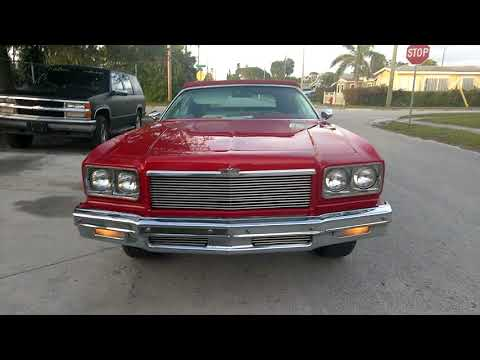75 Chevy Caprice on 24's beating