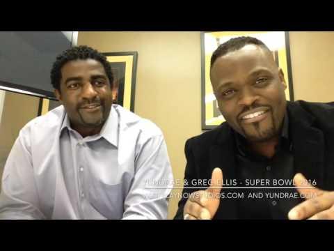 Yundrae and Greg Ellis, retired Dallas Cowboy - Discuss Super Bowl 2016