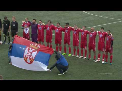 """Art football"" 05.06.17 – Slovenia-Serbia 1:2 (full match)"