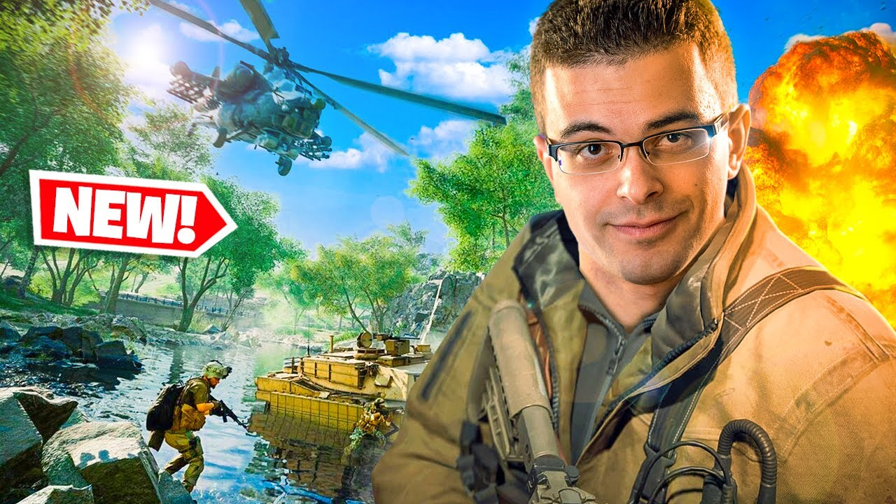 Nick Eh 30 reacts to FIRST EVENT in Battlefield 2042!