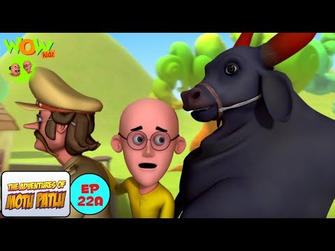 Motu Patlu Aur Black Bull - Motu Patlu in Hindi WITH ENGLISH, SPANISH & FRENCH SUBTITLES