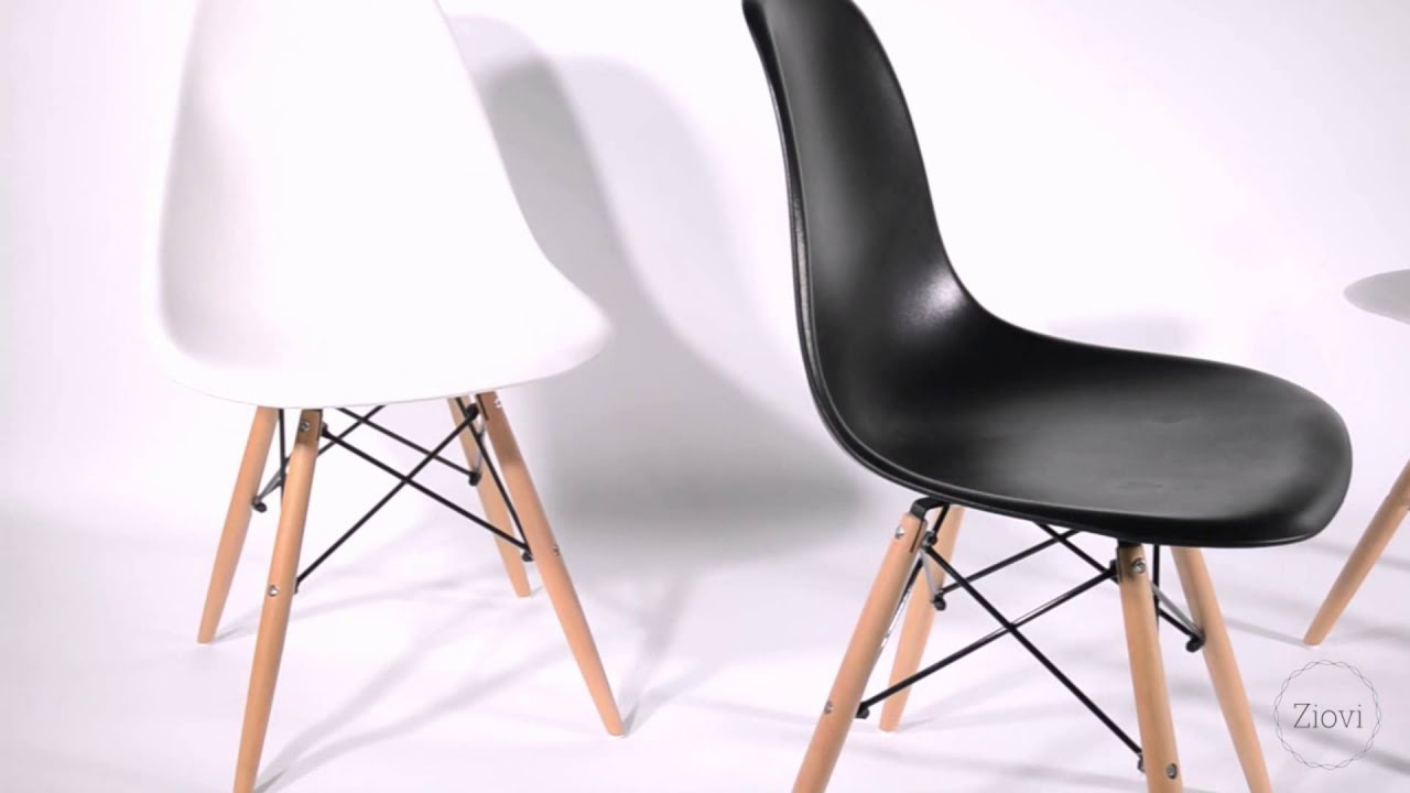 Eames Dsw Eames Dsw Style Shell Chair Dining Set From Ziovi