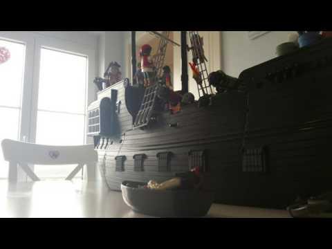Playmobil Pirates des Caraïbes 1 : Jack retrouve son précieux Black Pearl