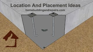 Anchor Bolt Location For Concrete Foundation – Three-Bedroom Home Design