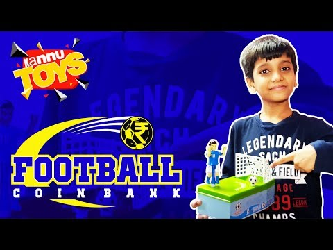 Best Coin Bank - Football Coin Bank - Unboxing and Review
