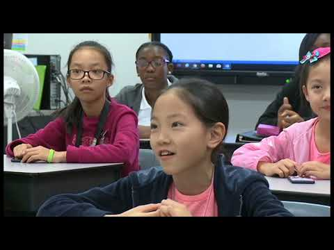 Students from Chongqing, China visit Carver Middle School