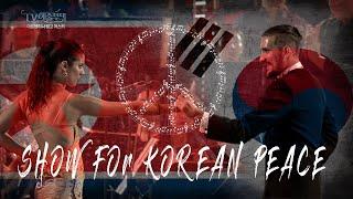 Show for Korean Peace - Gisela Vidal & Ariel Yanovsky (MBC TV South Korea)