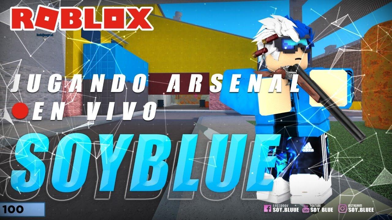 🔴 DIRECTO! JUGUEMOS ARSENAL! | Soy Blue | Arsenal Roblox Español