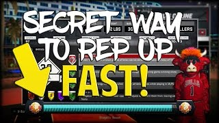 THE TRUE SECRET TO GAINING REP IN NBA 2K17 THAT NO ONE KNOWS! FASTEST WAY TO GAIN REP IN NBA 2K17!
