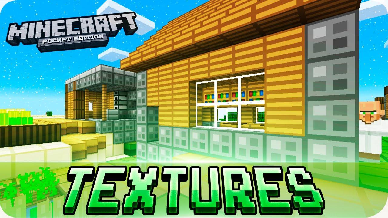 Minecraft PE - Simple oCd Texture Pack with Download - 0.15.2 / 0.15.0 MCPE - YouTube