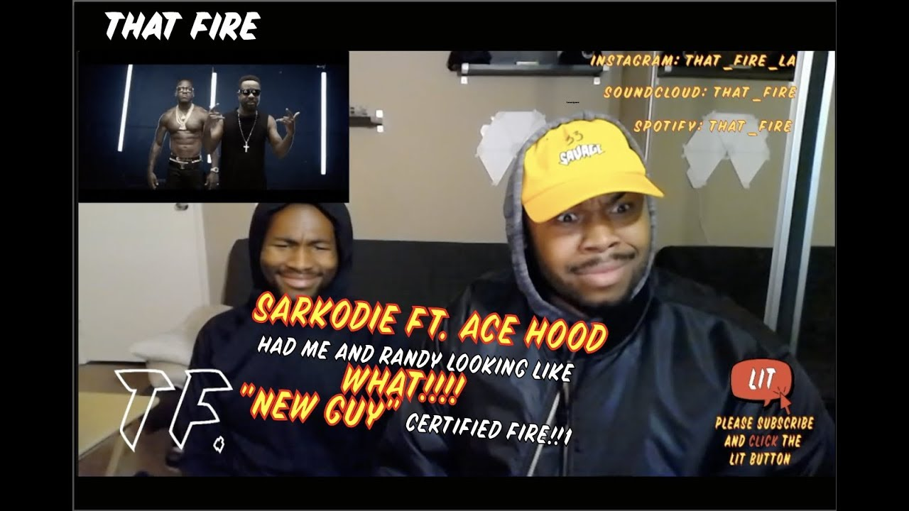 Download Sarkodie - New Guy ft. Ace Hood (Official Video)(Thatfire Reaction)