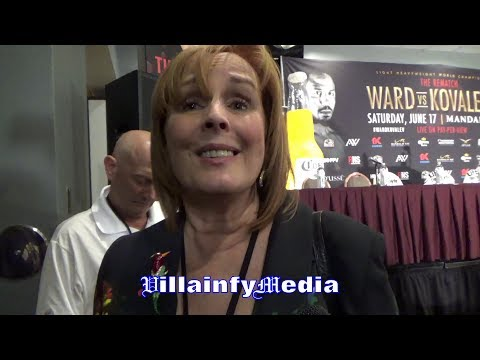 """KATHY DUVA QUESTIONS REFEREE FOR FAILING TO PROTECT KOVALEV; RIPPS WARD'S """"TAINTED WIN"""""""