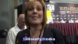 "KATHY DUVA QUESTIONS REFEREE FOR FAILING TO PROTECT KOVALEV; RIPPS WARD'S ""TAINTED WIN"""