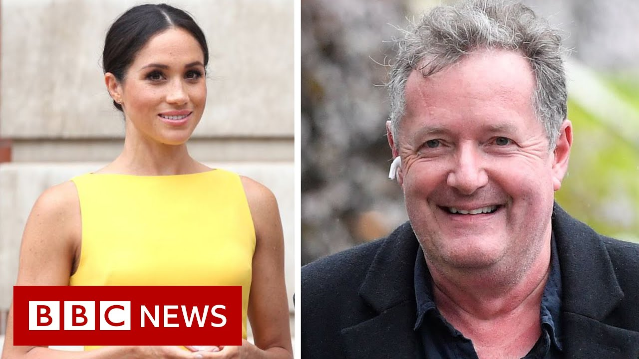 How Piers Morgans GMB exit unfolded after Meghan comments  BBC News