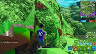 WEIRD TREE GLITCH IN FORTNITE BATTLE ROYALE (WHAT IS THIS?!?!)