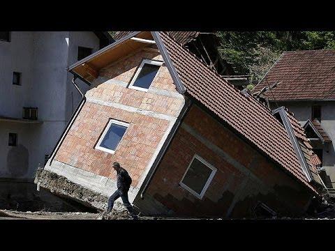 Mine alert adds to Balkans misery after deadly floods and landslides