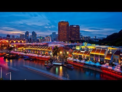 Clarke Quay, Beautiful Tourist Attractions in Singapore
