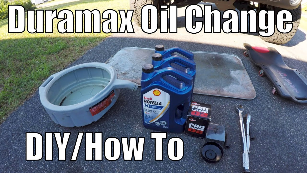 Best Oil Filter For The Duramax How To Change Duramax Oil Properly Youtube