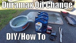 Best Oil & Filter For The Duramax & How To Change Duramax Oil Properly