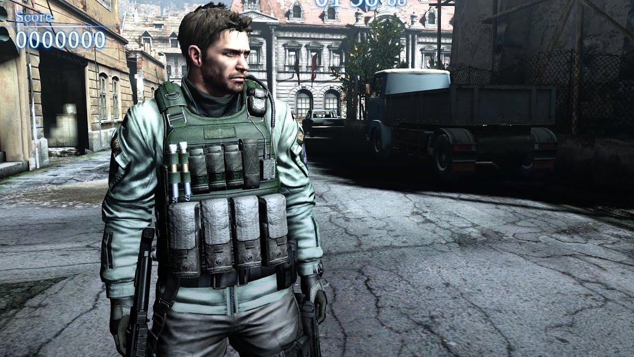 Resident Evil 6 Elicottero : Mod showcase resident evil chris with re hair