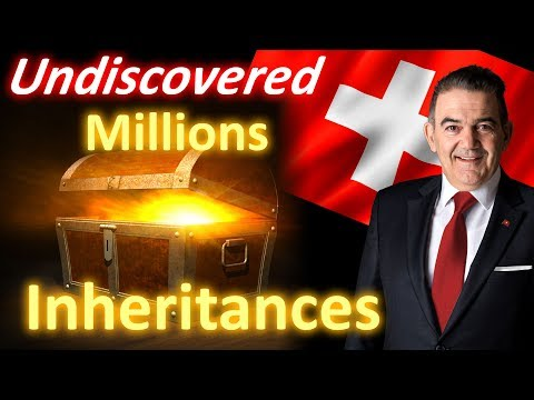 Unclaimed assets – undiscovered millions in inheritances