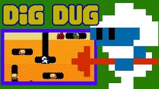 Dig Dug (FC) | Playthrough