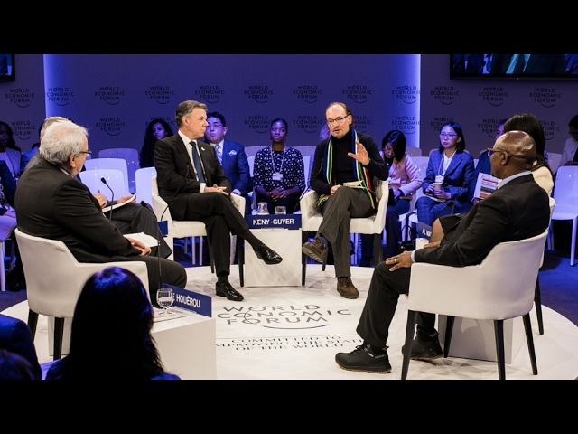 Davos 2017 - Investing in Peace