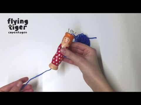 DIY Knitting doll