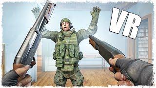 ДУЭЛЬ НА ДАСТ 2!!! CS:GO В VR!!!