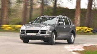Тест-драйв Порше Кайенн Porsche Cayenne Программа об автомобилях Белая Полоса