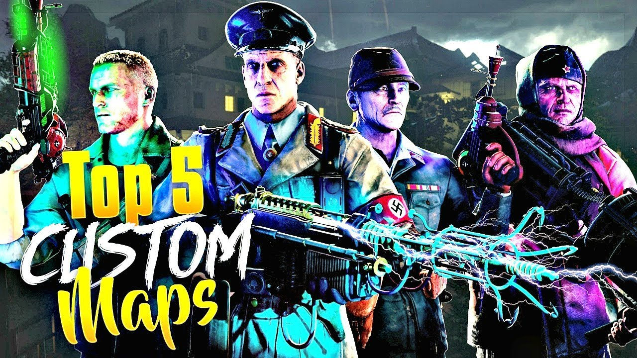 TOP 5 BEST CUSTOM ZOMBIES MAPS OF ALL TIME! - YouTube