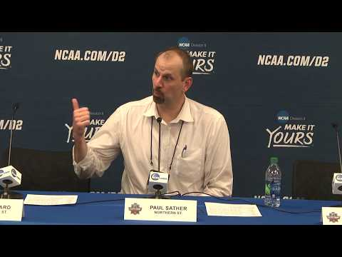 2018 NCAA MBB Elite Eight Semifinal No. 1 Press Conference – Northern State