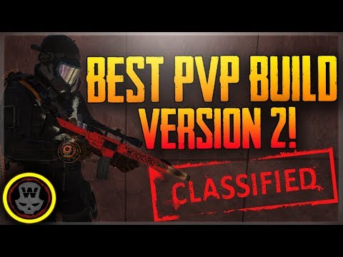 BEST PVP Build 1.7! v2 Classified Skull gloves build /w gameplay (The Division)