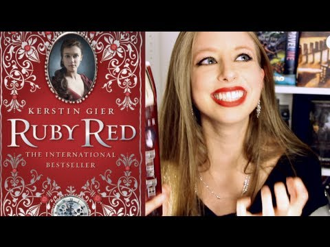 RUBY RED BY KERSTIN GIER | Booktalk With XTINEMAY