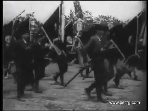 Chetniks on celebration of 550th anniversary of Battle of Kosovo 1939.