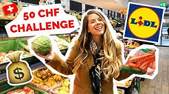 Swiss Grocery Store | $50 Challenge at LIDL