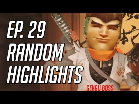 How To Deflect Graviton Surge? Random Overwatch Highlights - Episode 29
