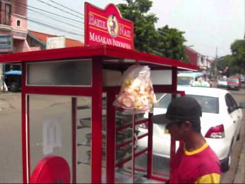 Jakarta Street food 236 Indonesian Food at Walking Restaurant