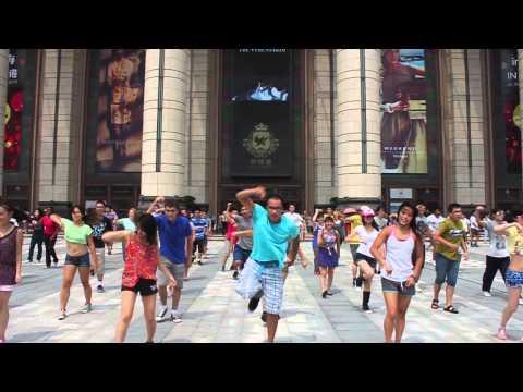 Flashmob in China: NYU Shanghai