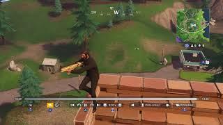 Fortnite Battle Royale. Epic fix this... Sniper bug clip#5