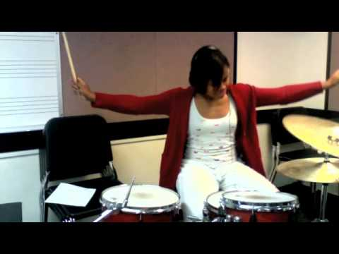 """California Gurls- Katy Perry feat. Snoop Dogg (drum cover by Taylor """"Pocket Queen"""" Gordon)"""