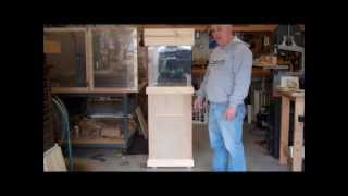 Building An Aquarium Stand Part 2