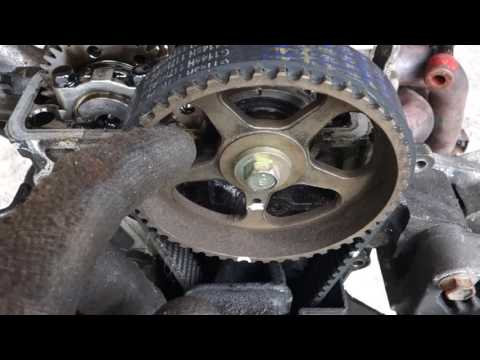 How to check Toyota Corolla timing belt right positions. Years 1990 to 2000