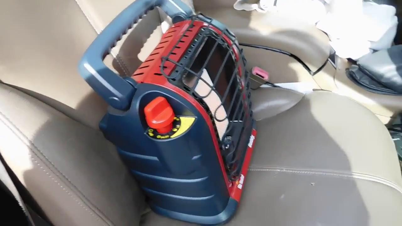 Mr. Buddy Portable indoor outdoor Tent RV heater with Co2 sensor & Mr. Buddy Portable indoor outdoor Tent RV heater with Co2 sensor ...
