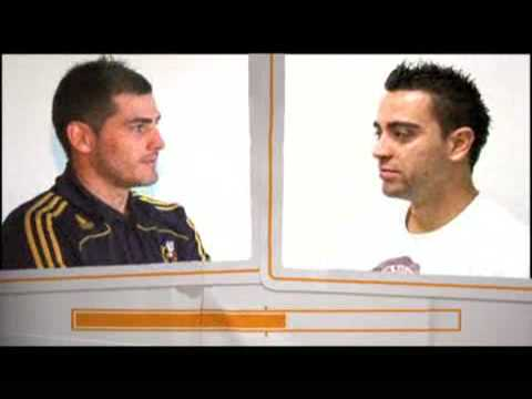 Iker Casillas vs Xavi Hernández