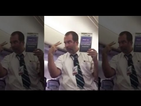 Thumbnail: [FULL] Hilarious WestJet Flight Attendant Safety Demo Leaves Passengers in Stitches