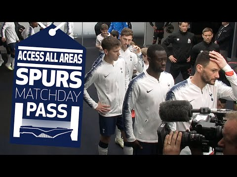 SPURS MATCHDAY PASS | BEHIND THE SCENES | Spurs 4-0 Huddersfield Town